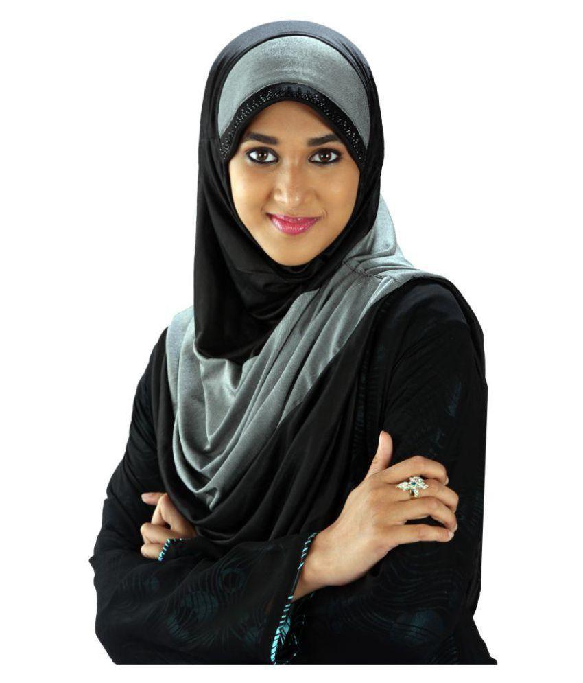 Parvin Black Hijab