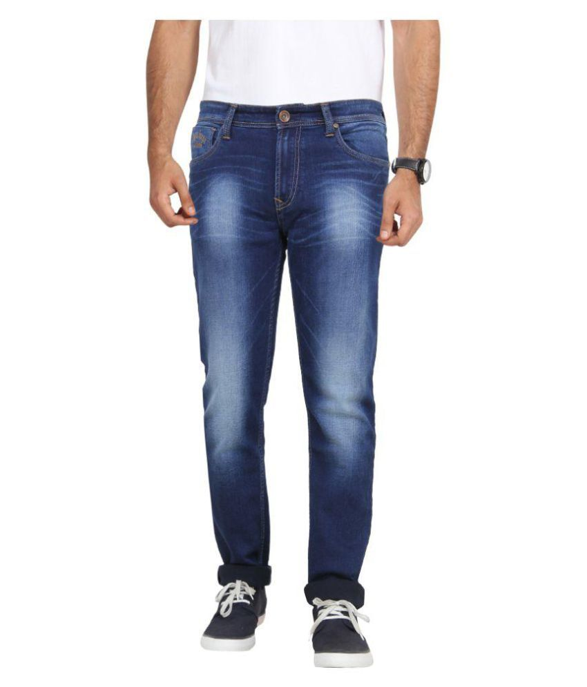 575caea3c2 Pepe Jeans Blue Slim Jeans - Buy Pepe Jeans Blue Slim Jeans Online at Best  Prices in India on Snapdeal