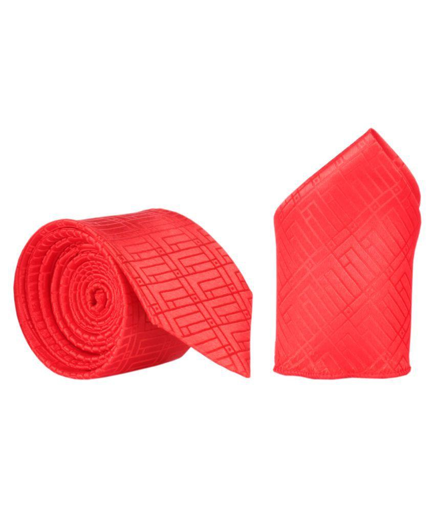 Modishera Red Party Necktie