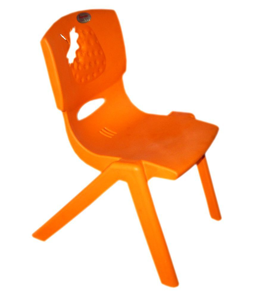 Supreme Strawberry Kids Chair Orange Colour ...