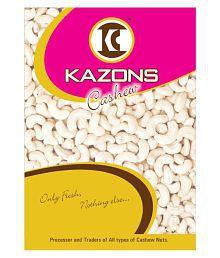 Kazons Regular Cashew Nut (Kaju) Regular 1000 Gm Pack Of 2 - 630011877808