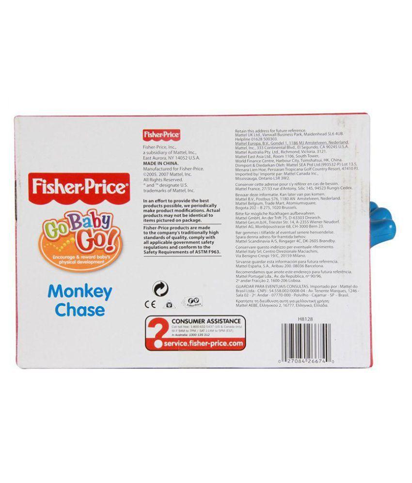 Fisher Price Multicolour Plastic Monkey