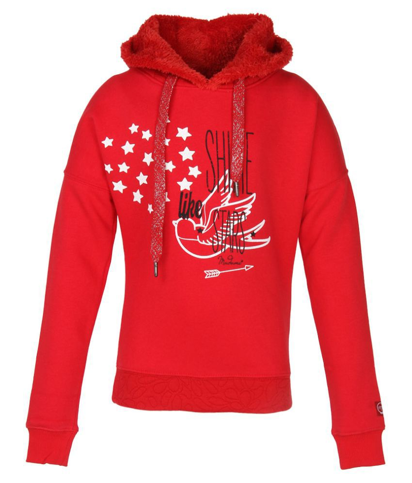 Madame Red Sweatshirt