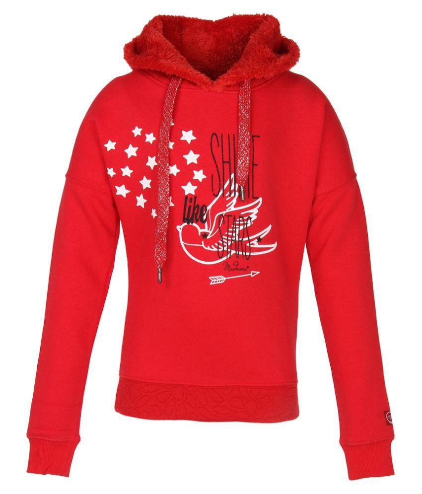 Madame Red Sweatshirt