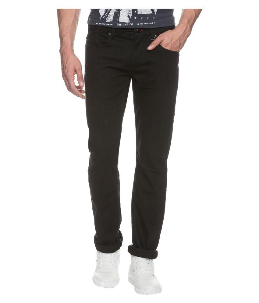 Buffalo by FBB Black Regular Fit Jeans
