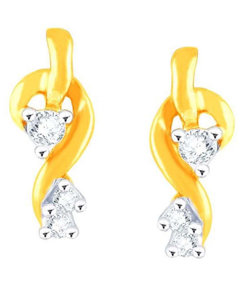 Asmi 95.5 Lumineux Diamond Drop Earrings