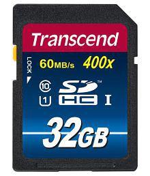 Transcend 32 GB Class 10 Memory Card