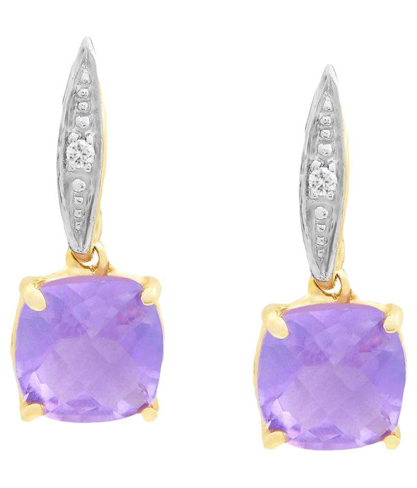 Shuddhi 95.5 Lumineux Diamond Drop Earrings