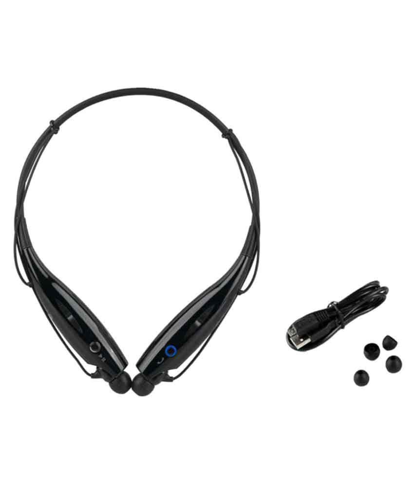 Jikra Galaxy M Pro B7800 Wireless Bluetooth Headphone Black