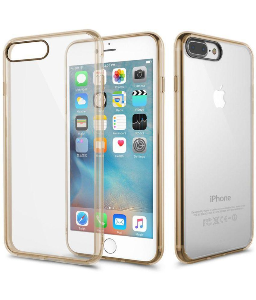 Apple iPhone 7 Plus Cover by Shopizone   Golden