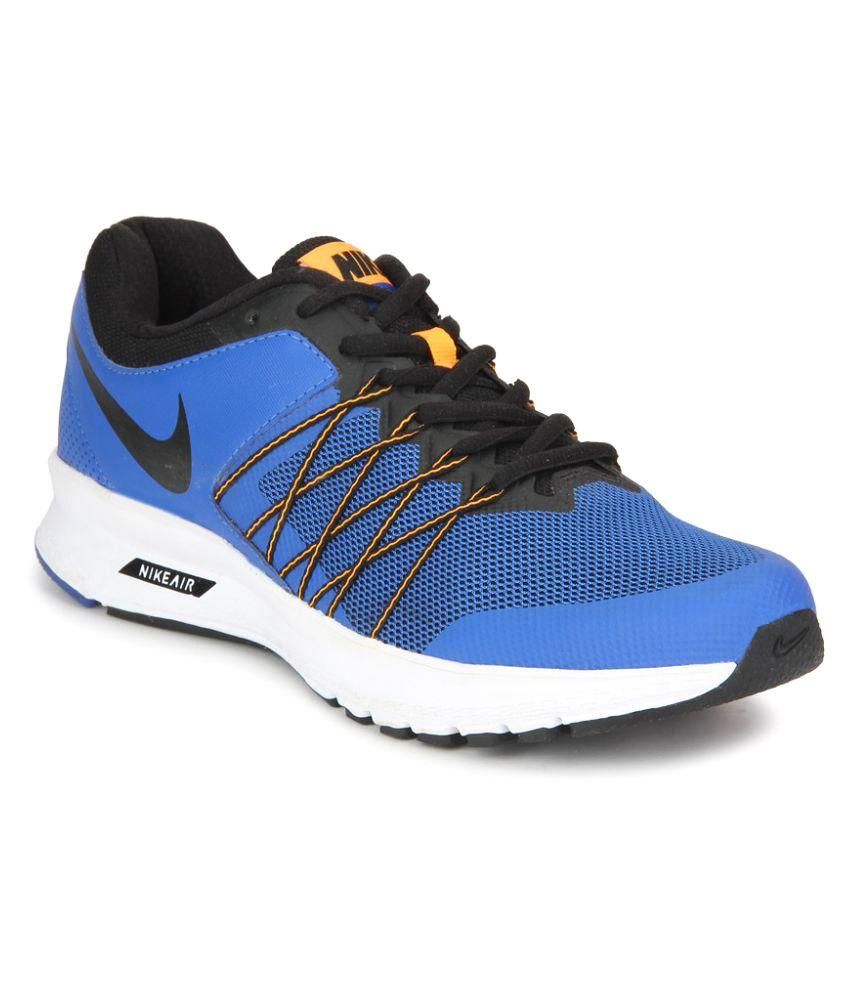 Nike Air Relentless 6 Msl Blue Running Shoes ...