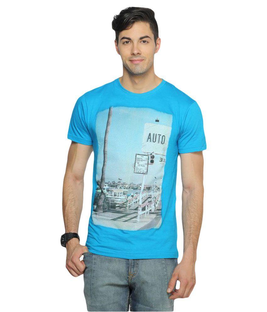 Ferrous Jeans Blue Round T-Shirt