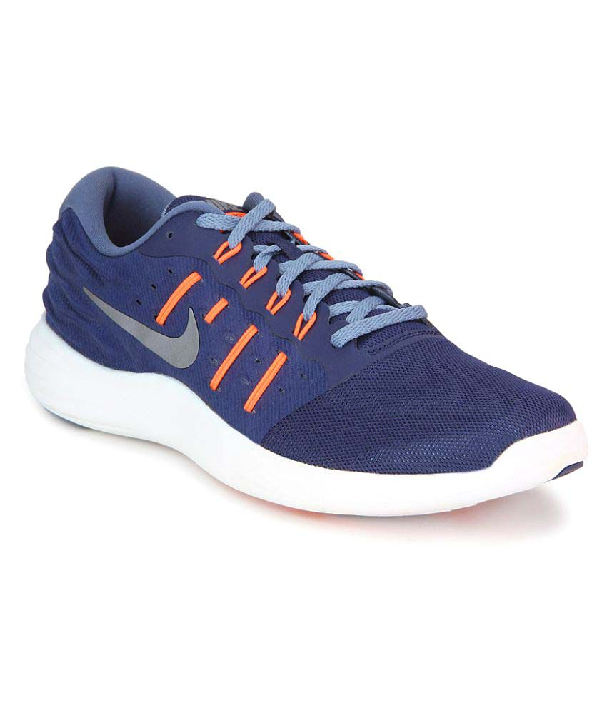 d3da0e94965b4 Nike Lunarstelos Blue Running Shoes