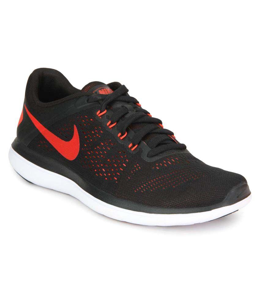 Nike FLEX 2016 RN Black Running Shoes
