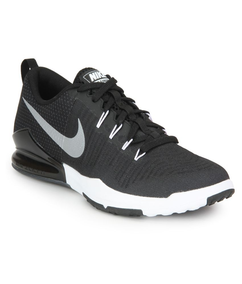 Nike Zoom Train Action Black Running Shoes - Buy Nike Zoom Train Action  Black Running Shoes Online at Best Prices in India on Snapdeal d21348cc3