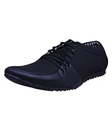 Essence Outdoor Black Casual Shoes