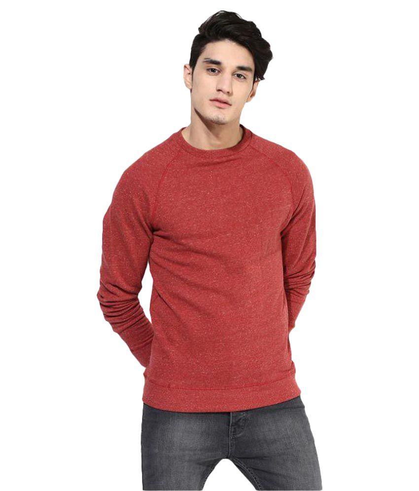 Brown Boy Red Round T-Shirt