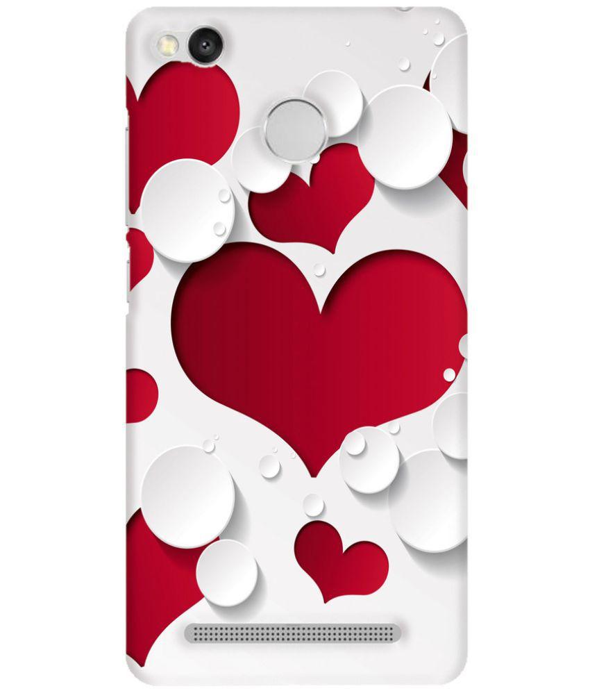 new concept 02f9e d6417 Xiaomi Redmi 3s Prime 3D Back Covers By Empression