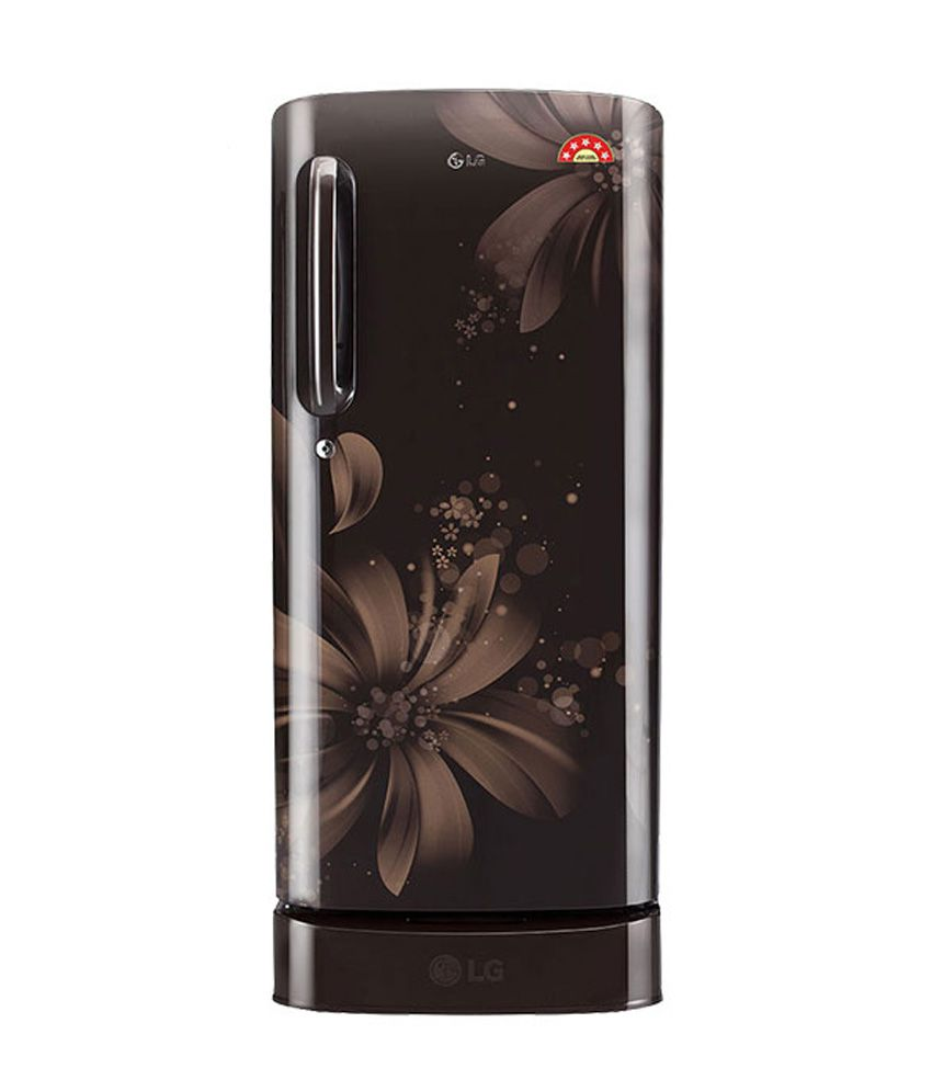 LG 190 Ltr 5 Star GL-D201AHAZ Single Door Refrigerator Hazel Aster