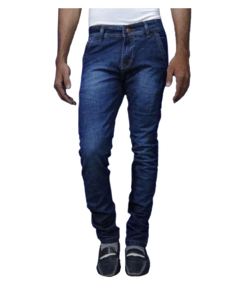 Smartwear Blue Slim Jeans