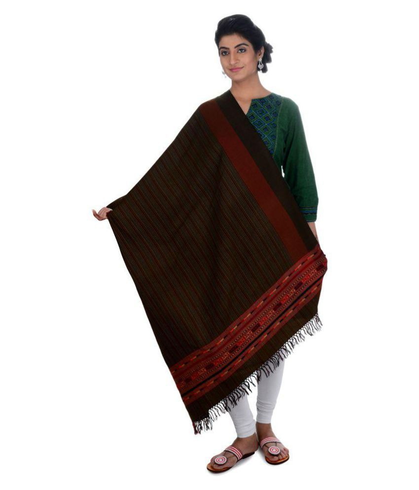 Tribes India Multicoloured Woven Shawl