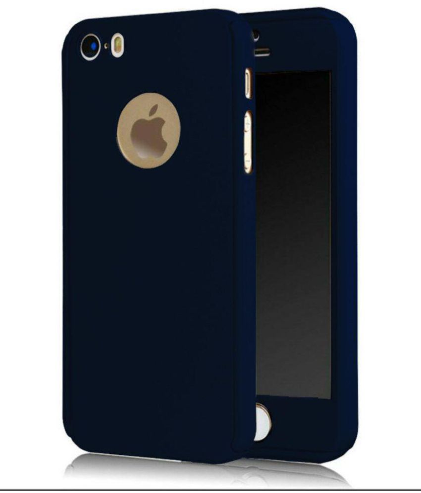 a7fa09539 Apple iPhone 5 Cover by Tecozo - Blue - Plain Back Covers Online at Low  Prices