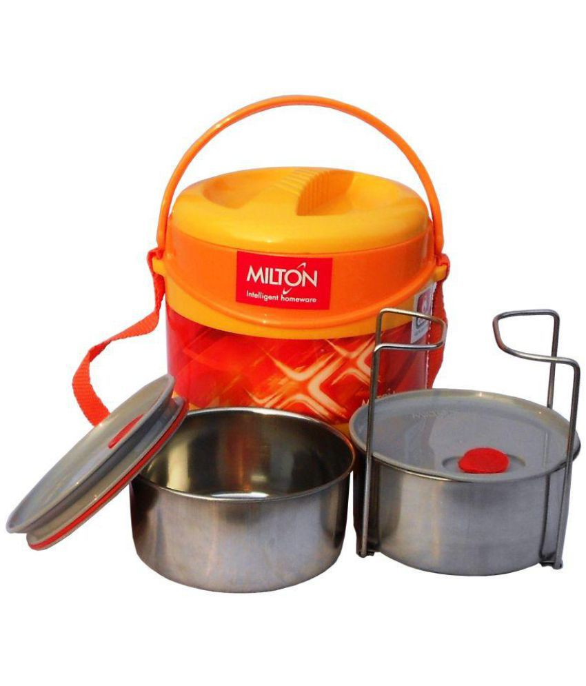 Milton Yellow Stainless Steel Lunch Box