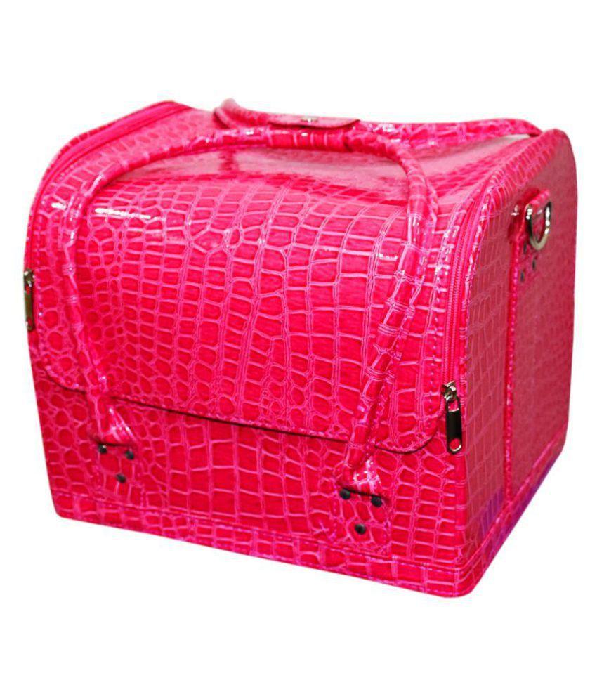 Pride Pink Leather Jewellery Box
