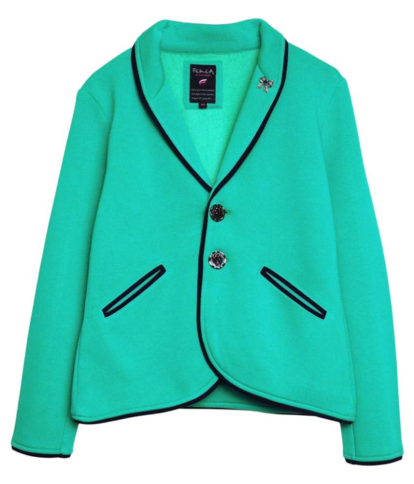 Femea Green Coat