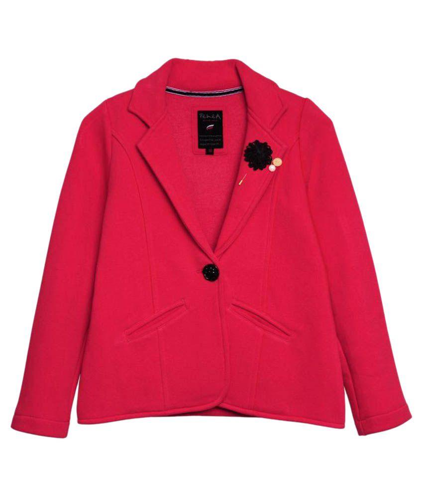 Femea Pink Blazer