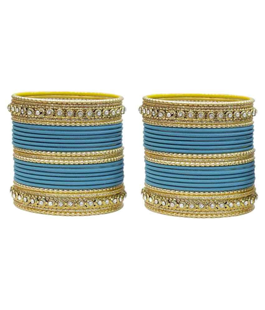 Multiline Company Multicolor Bangles Set