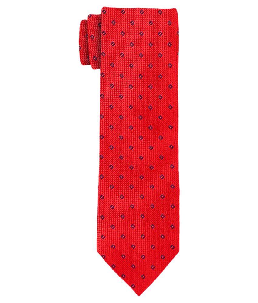 Scharf Red Formal Necktie