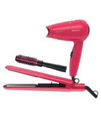 Philips HP8647/40 Hair Straightener ( Pink )