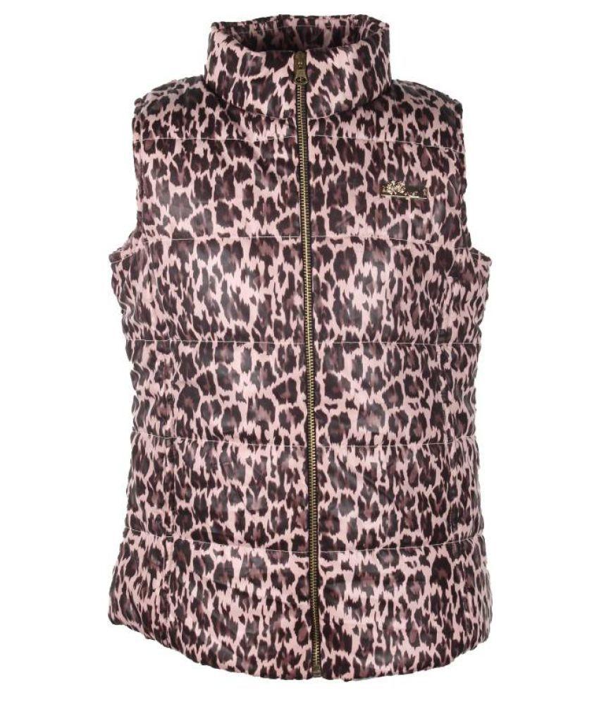Cutecumber Multicolored Polyester Jacket