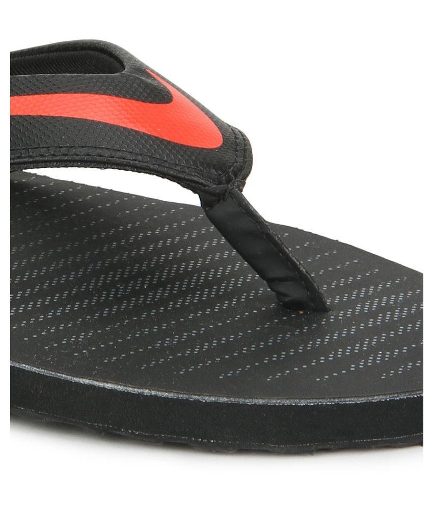 buy popular cad6b 77b38 nike slippers black grey red