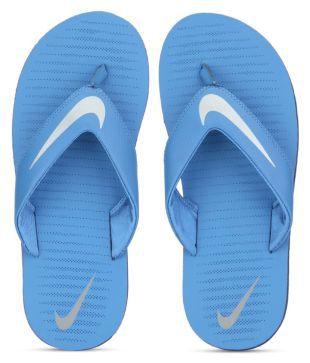 c9015146f64 Nike NIKE CHROMA THONG 5 Flip Flops Nike Mens Chroma 5 Black Flip Flops  Thong Sandals-9 UK India (44EU) (8.