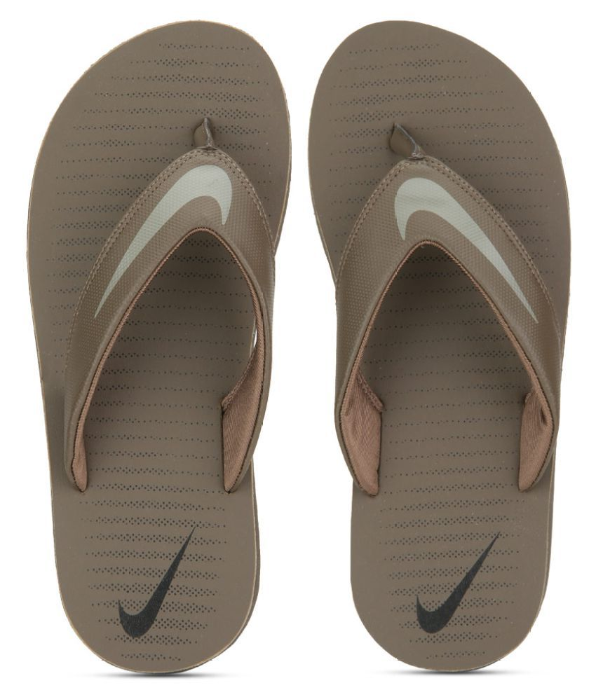 eb7d5be10f4b Nike Chroma Thong 5 Brown Thong Flip Flop Price in India- Buy Nike Chroma  Thong 5 Brown Thong Flip Flop Online at Snapdeal