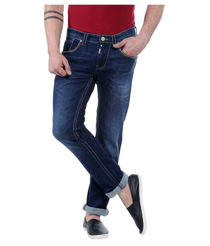 Lawman Pg3 Navy Blue Slim Jeans