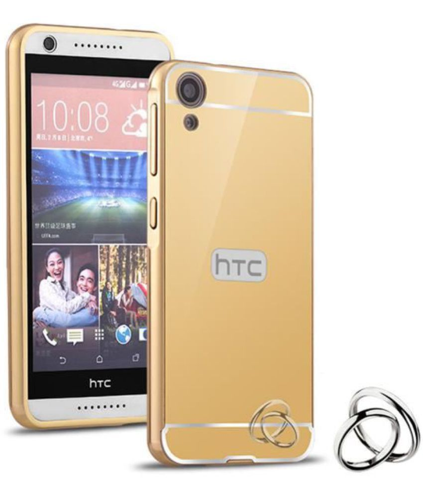 HTC Desire 816 Cover by Kosher Traders - Golden