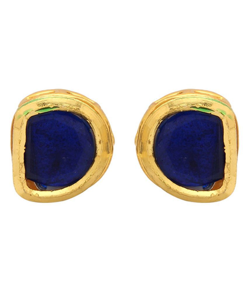 Voylla Blue Studs Earrings