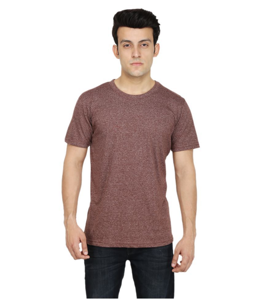 Fabizona Brown Round T-Shirt