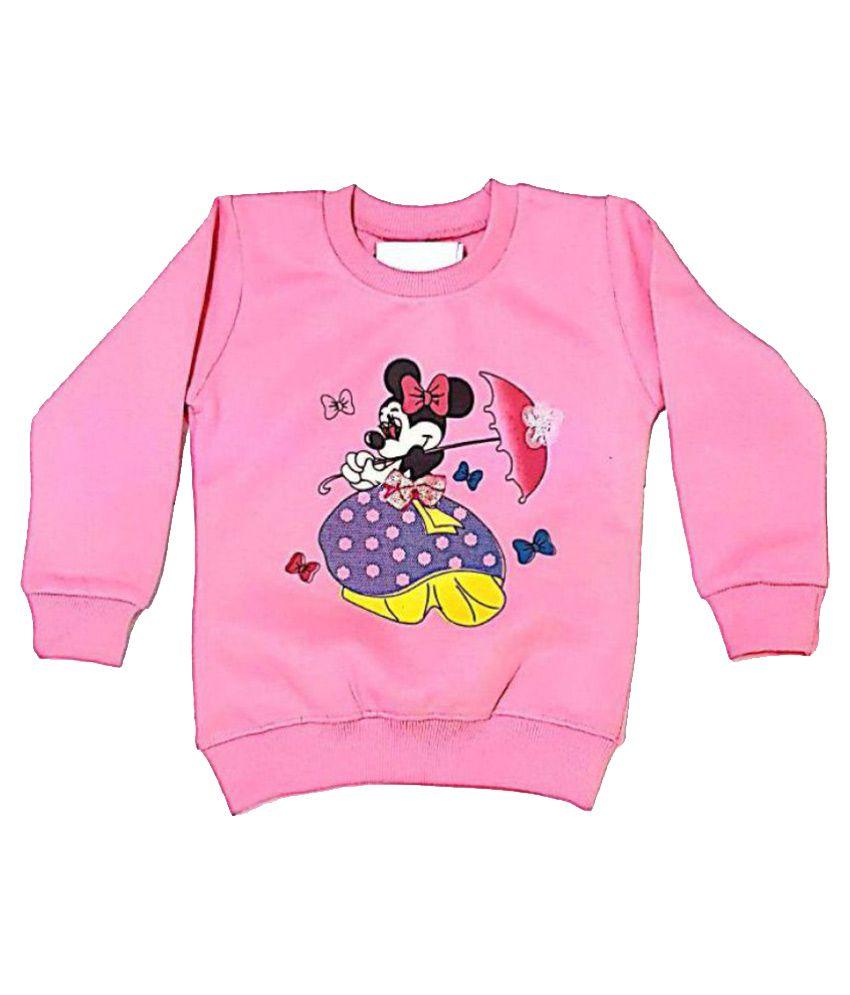 Cuddlezz Pink Sweatshirt