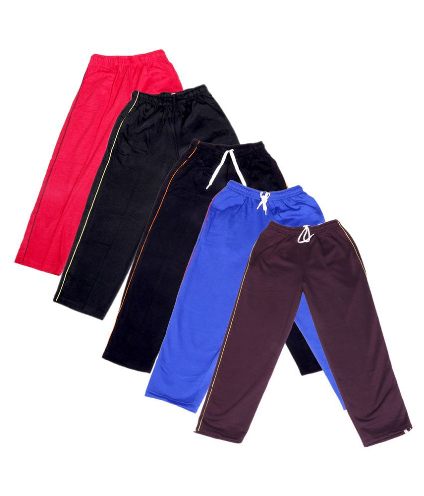 IndiWeaves Girls Premium 3 Cotton and 2 Warm Wollen Lower(Pack of 5)