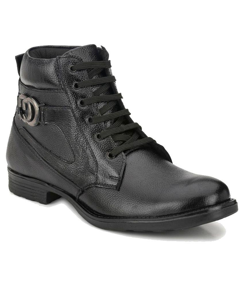 Mactree Black Casual Boot