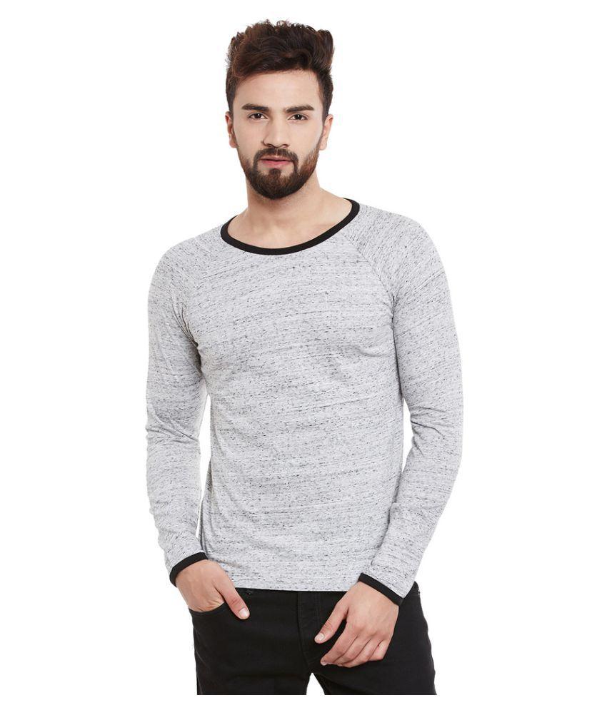 Rigo Grey Round T-Shirt