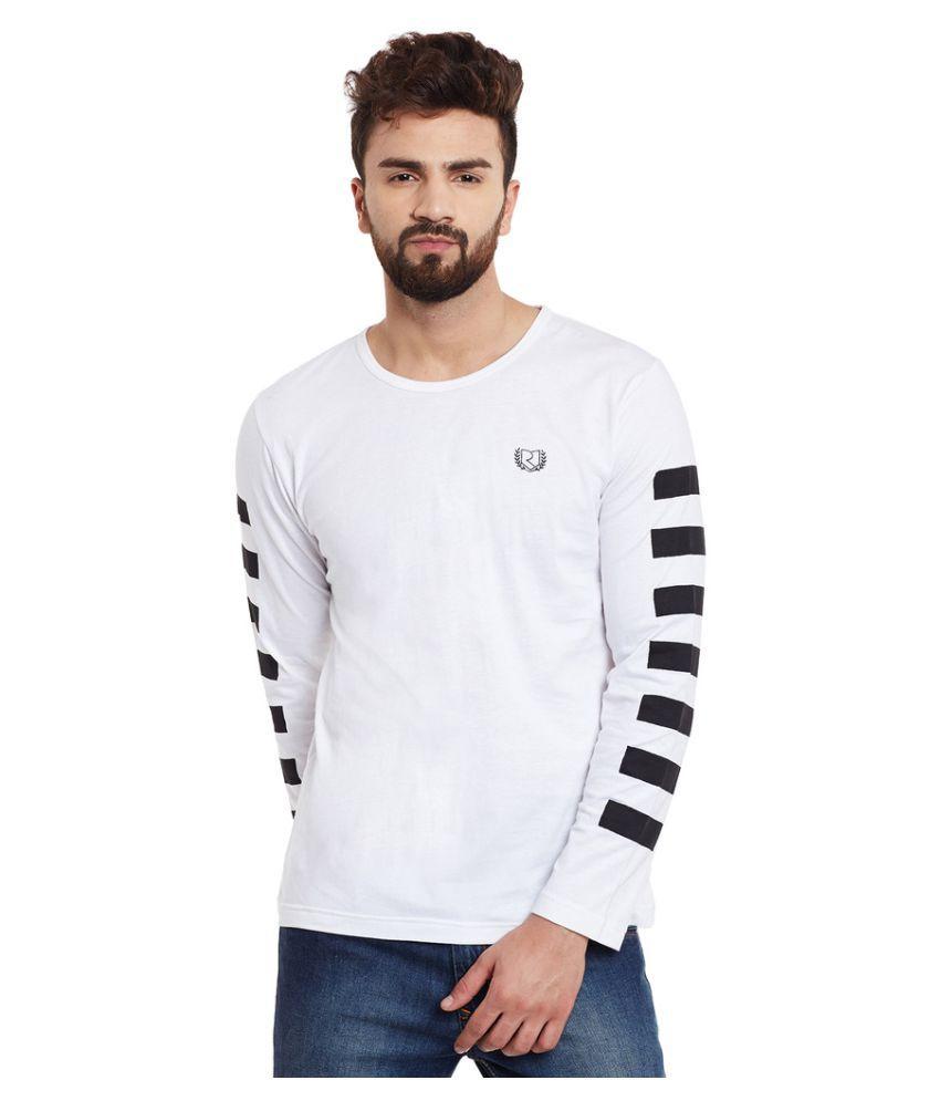 Rigo White Round T-Shirt