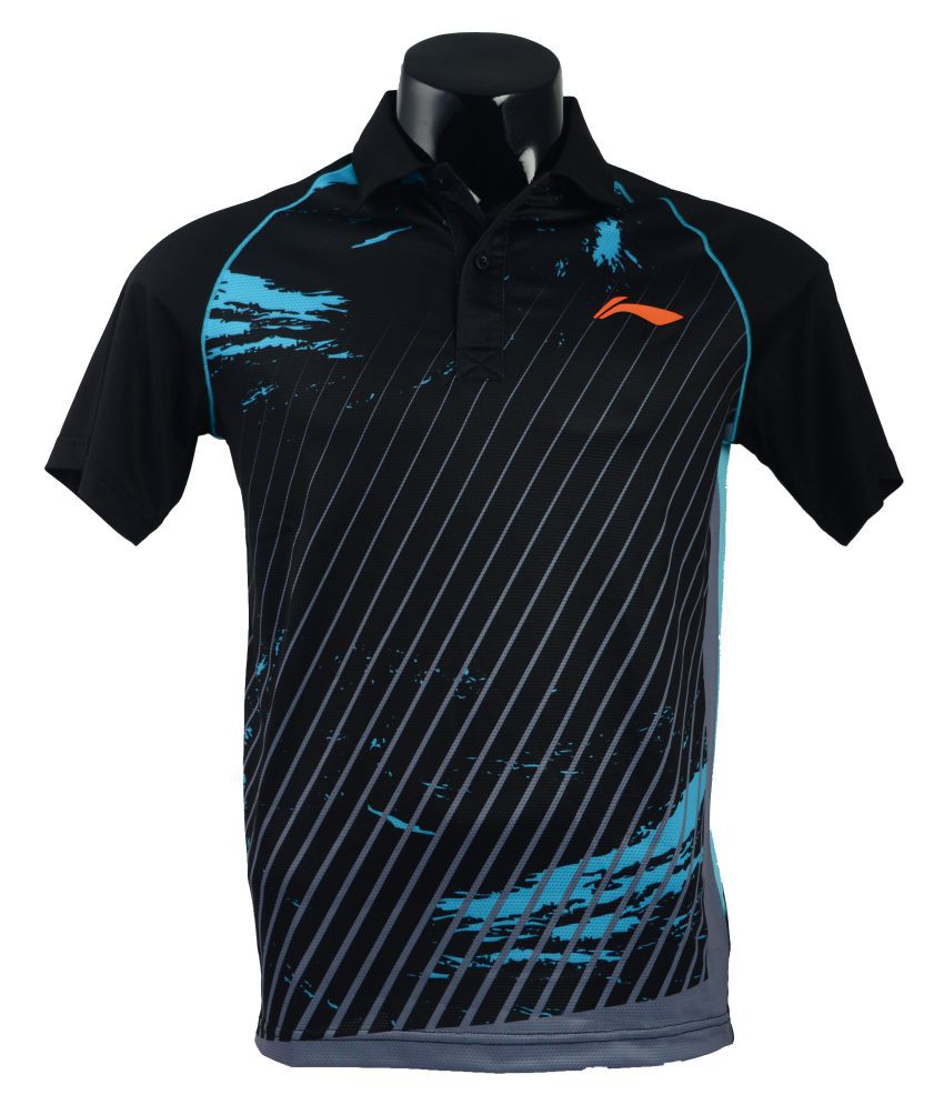 Li-Ning Black T-Shirt