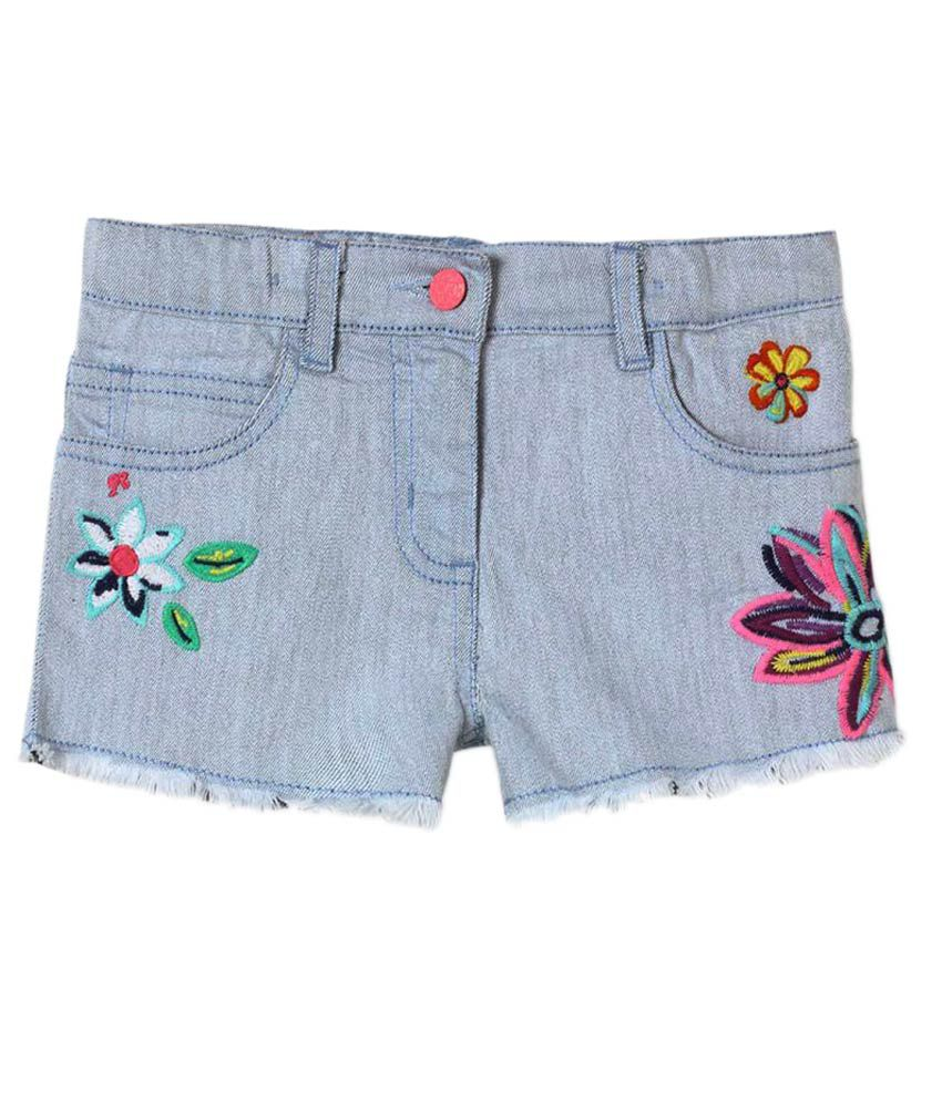 Barbie Blue Denim Shorts