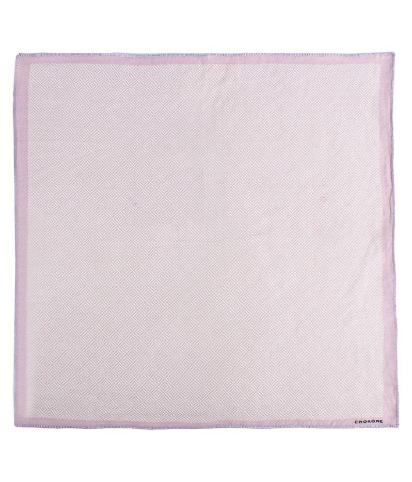 Chokore Pink Silk Pocket Square