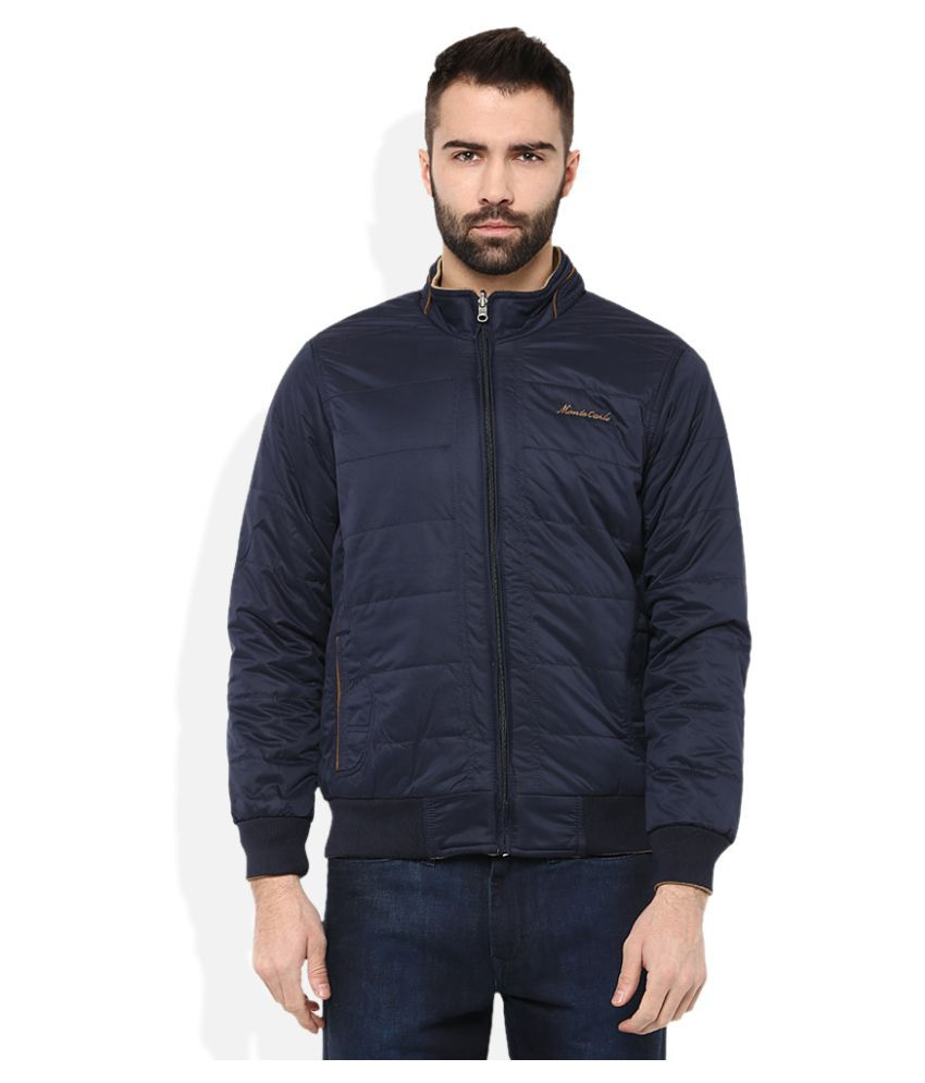 Monte Carlo Navy Reversible Jacket